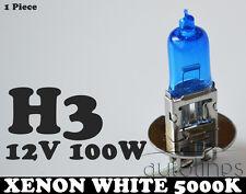 1x H3 12V 100W Xenon White 5000k Halogen Fog Car Headlight Lamp Globes Bulbs HID