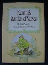 Kermit'S Garden Of Verses Poems 1982 Hardcover Book Kermit Frog Henson Muppets