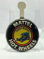 1969 Hot Wheels Redline Button Badge Paddy Wagon, with Tab
