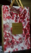 New Marks & Spencer winter holiday paper gift bag