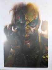 "DCEASED: A GOOD DAY TO DIE #1 ART PRINT by Francesco Mattina ~ 12"" x 16"" ~ DC"