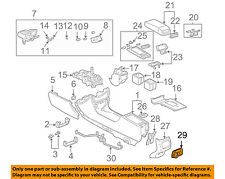 Cadillac GM OEM 00-05 DeVille Console-Control Switch 25754560