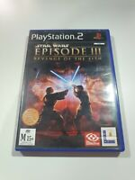 Star Wars Episode 3 III Revenge of the Sith PS2 PAL
