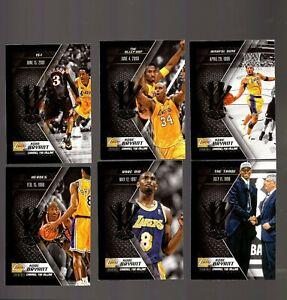 2015-16 Panini HV KB20 Unleash the Hero Kobe Bryant 21 Card Set HTM 256