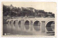 namur , pont de jambes et citadelle
