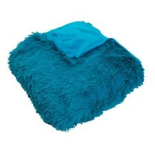 Décor Therapy - Chubby Faux Throw Blanket Blue
