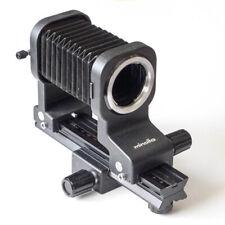 Minolta Bellows IV + funciona a partir de rail-III * balgengerät para Minolta MC/MD