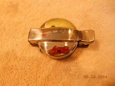 CHROME FLIP TOP GAS TANK CAP REPLACEMENT VINTAGE GO KART RACE MOPED SNOWMOBILE