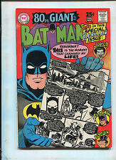 BATMAN #198 (7.0)  JOKER COVER! 1968