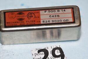 COLLINS radio MECHANICAL FILTER TYPE  F 500 B 14 P/N 526-9030-00
