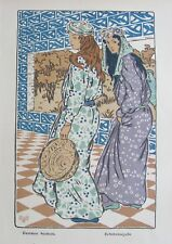 """George Auriol (1863-1938): """"Scheherazade"""" - [Lithographie orig. - 1901]"""