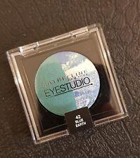 New & Sealed Maybelline New York Blue Earth Eye Studio Duo Eye Shadow