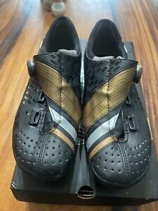 Bont Helix Cycling Shoes Black / Gold