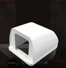 1Pc Common Socket Switch Thicken White Waterproof Box For Socket Panel Mounting