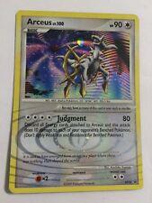 Pokemon: Arceus Lv.100 DP50 Black Star Rare Promo - Light Play
