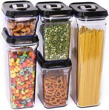 Zeppoli Air-Tight Food Storage Container Set - 5-Piece Set - Durable Plastic