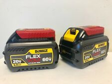 (2-PACK) DEWALT DCB606-2  20-Volt 60-Volt MAX Lithium-Ion Battery 6.0AH