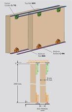 Henderson Cello C24 Track for Sliding Wardrobe Doors (2.4m opening size)