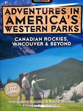 America's Western Parks DVD Canadian Rockies,Vancouver Travel Channel Scenic