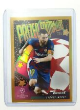 2020 Topps Finest UEFA Champions League Finest Phenoms Insert MESSI Gold 20/50