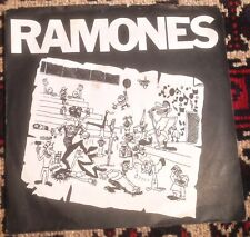 RAMONES do you wanna dance*it's a long way back to germany 1978 UK SIRE PS 45