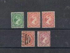 FALKLAND ISLANDS - 1891-96 VICTORIA. LOT