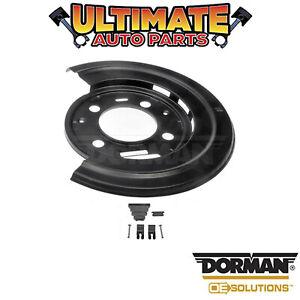 Dorman: 924-224 - Right Rear - Brake Dust Shield / Backing Plate
