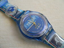 1998 swatch watch Magic Blue 100 year Notional Football team Italy New