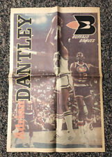 1977 Buffalo Braves Poster Adrian Dantley Buffalo Evening News Buffalo Aud