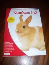 Discovery Workbooks Pre-K-K Numbers 1-12