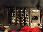 black box LE6507A media converter chasis w (4) cards