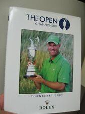 2009 R&A Championship British Open Champ Commemorative Book- Signed Stewart Cink