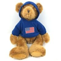 RUSS Collectible American Flag Teddy Bear