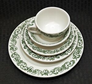 PRIVATE AUCTION 7 pc Place Setting x 4 For MILLIE