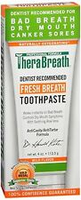 TheraBreath Fresh Breath Toothpaste 4 oz