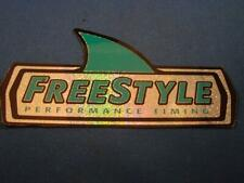 """Freestyle Performance Timing Vintage Surfing Sticker 4-3/4"""" Free Shipping"""