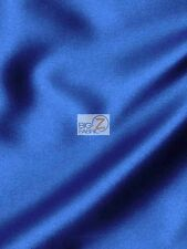 SOLID CREPE BACK SATIN FABRIC - Royal - BY THE YARD DRESS GOWN HOME DECOR BRIDAL