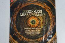Pergolesi Missa Romana Escolania Montserrat Tölzer Knabenchor Collegium Au(LP31)