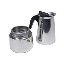 Terrific 2-Cup Percolator Stove Top Coffee Maker Espresso Stainless Steel Pot LI