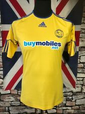 DERBY COUNTY - ADIDAS -  AWAY FOOTBALL  SHIRT - ( S) - VGC - SEE MEASUREMENTS