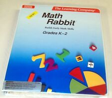 New Apple Macintosh Math Rabbit by The Learning Company *1980's Vintage Woody