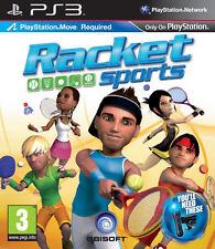 RACKET SPORTS ~ PS3 MOVE GIOCHI (in ottime condizioni)