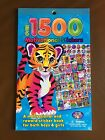 NEW Lisa Frank Motivational  Reward Sticker Book - Over 1500 Stickers/12 Pages