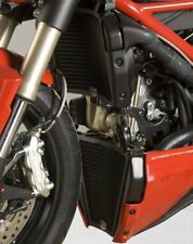 Ducati Streetfighter 848 2013 R&G Racing Radiator Guards (Pair) RAD0116BK Black