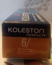 Wella Koleston Perfect Permanent Hair Color 2 oz 6/ Dark Pure Blonde