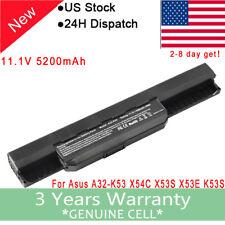 Battery A32-K53 A41-K53 for ASUS K53 K53E X54C X53S X53 K53S X53E Laptop 58Wh