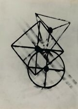 "LASZLO MOHOLY-NAGY ""Untitled Positive Photochrom"" Bauhaus Constructivism Poster"