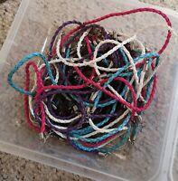 Jewellery/ Hair bundle joblot. All new or handmade. Hairclips, bracelets, rings