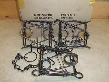 3   Duke 155  Body Grippers Trap  Trapping   Marten Fisher Raccoon Skunk
