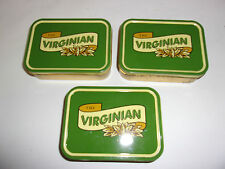 LOT 3 BOITES METAL THE VIRGINIAN